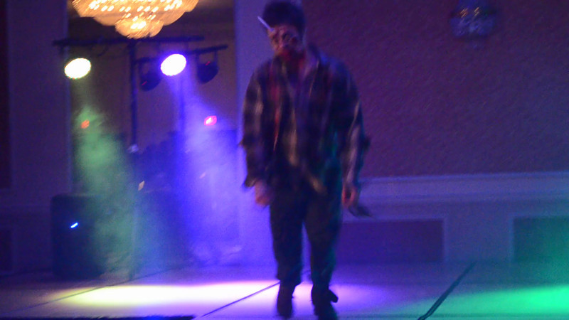 Zombies at the Red LIght Runway Show!