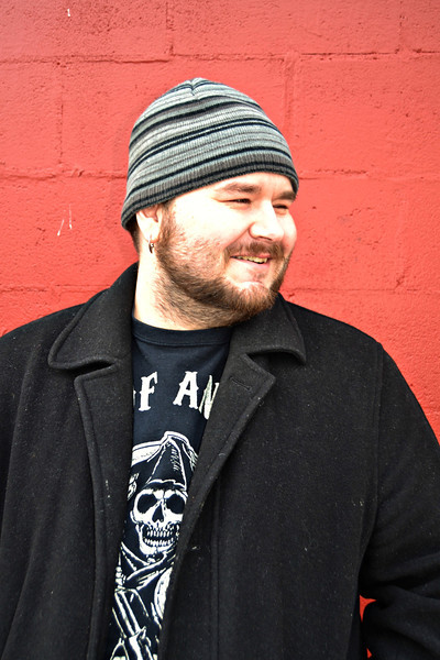 Dale Brown. AKA Cock Knocker, is a Chef, Artist, and Super Nerd! loves his wife, pets, and video games. Assists Meggie with her photography by harassing her models so they're always laughing and smiling.