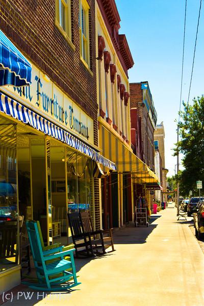 Small Town Streetscape, Washington, NC