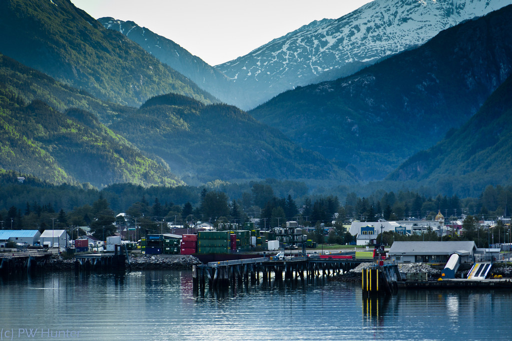 Shipping Facilities, Skagway Alaska