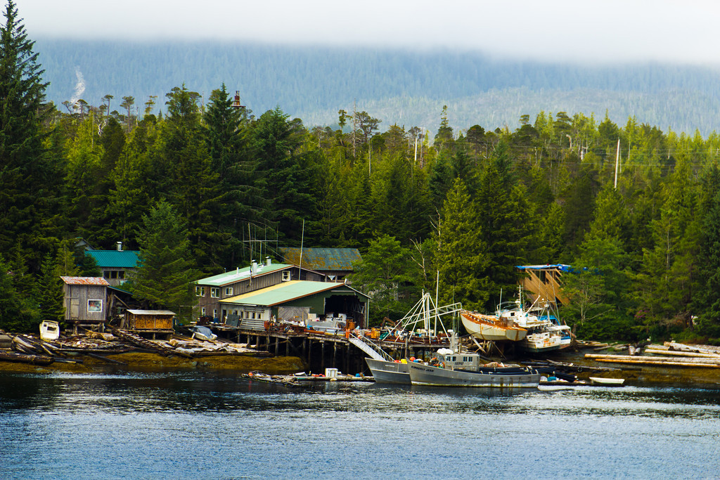 Local Boatyard in Alaska