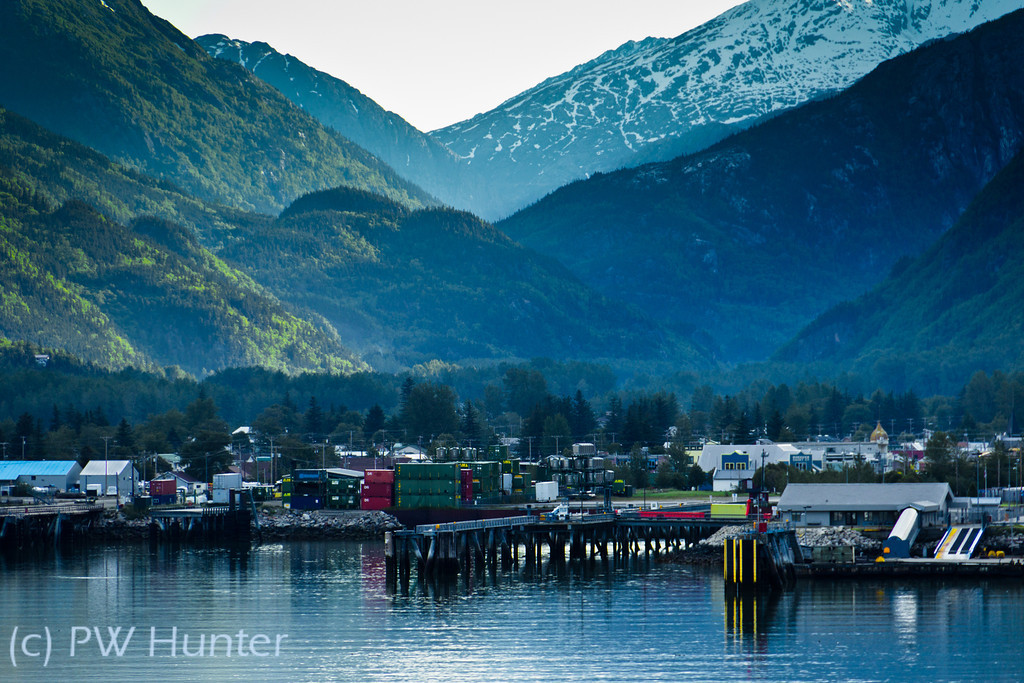 Skagway, Wedged between the Sea and the Mountains