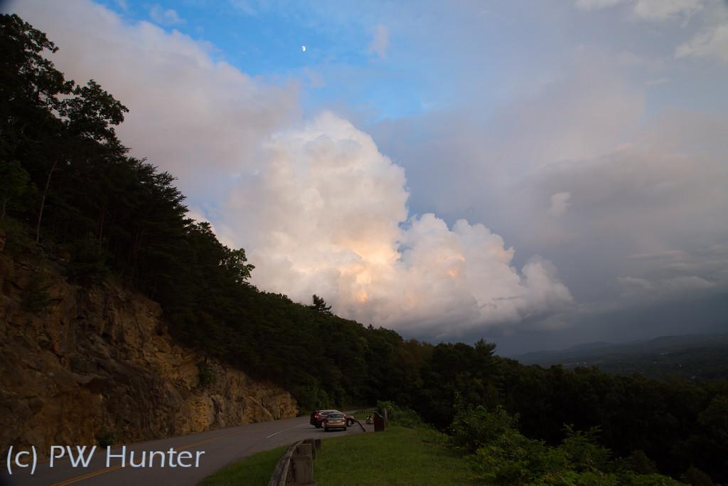 Cloud, Moon, and Stars
