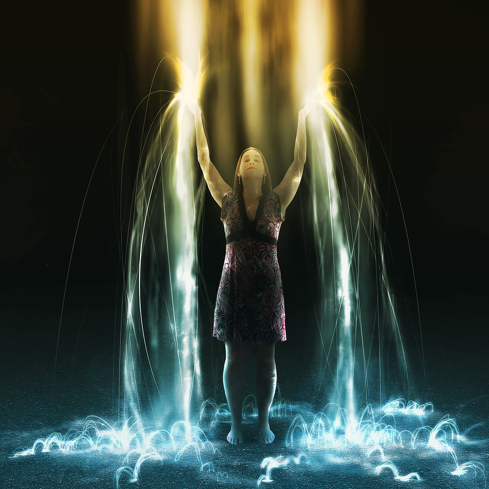 Falling light