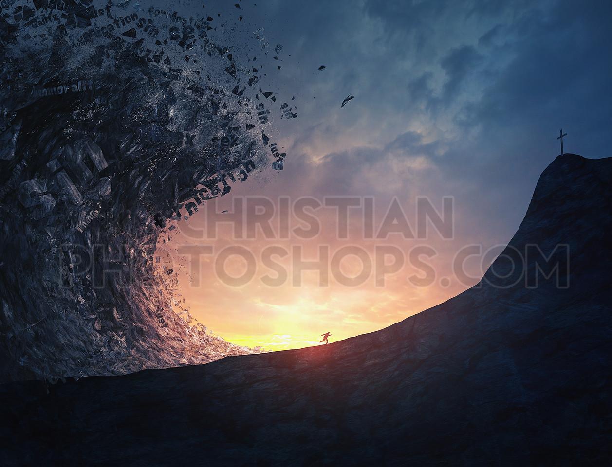 Tsunami of sins