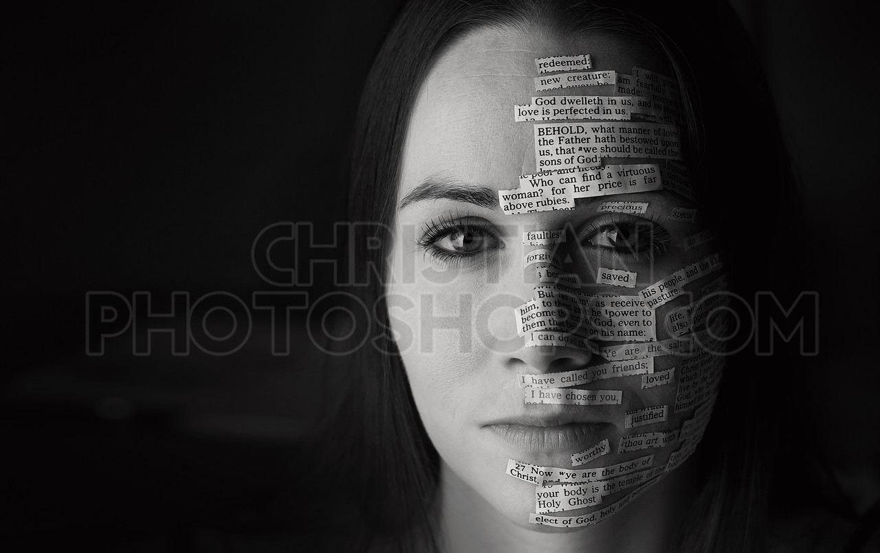 Bible verses on woman's face