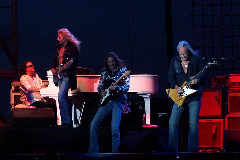 Billy Powell, Ean Evans, mark Matejka, and Ricky Medlocke