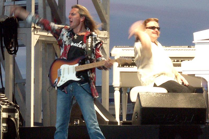 Mark Matejka and Billy Powell