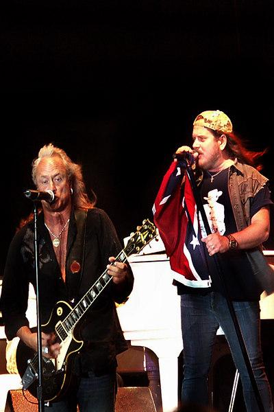 Ricky Medlocke and Johnny VanZant