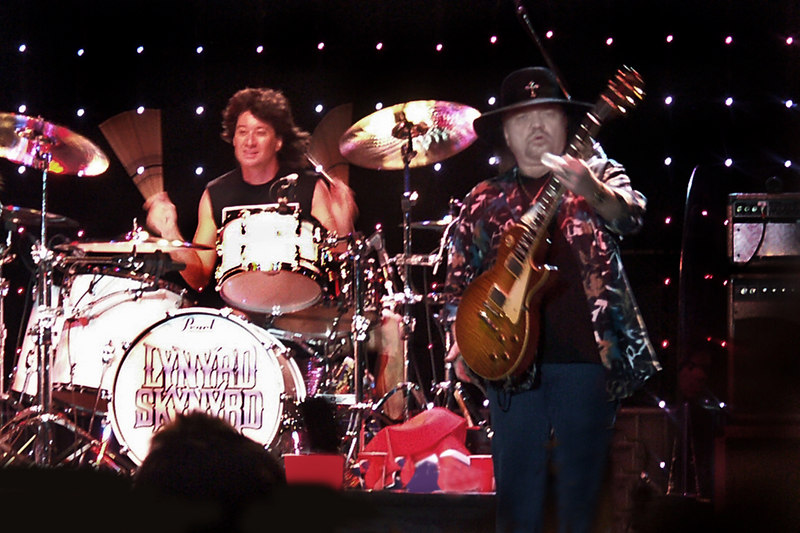 Michael Cartellone and Gary Rossington