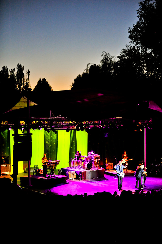 Air Supply performing on September 3, 2012 at the Layton Amphitheater. (ROBBY LLOYD/ Special to the Standard-Examiner)