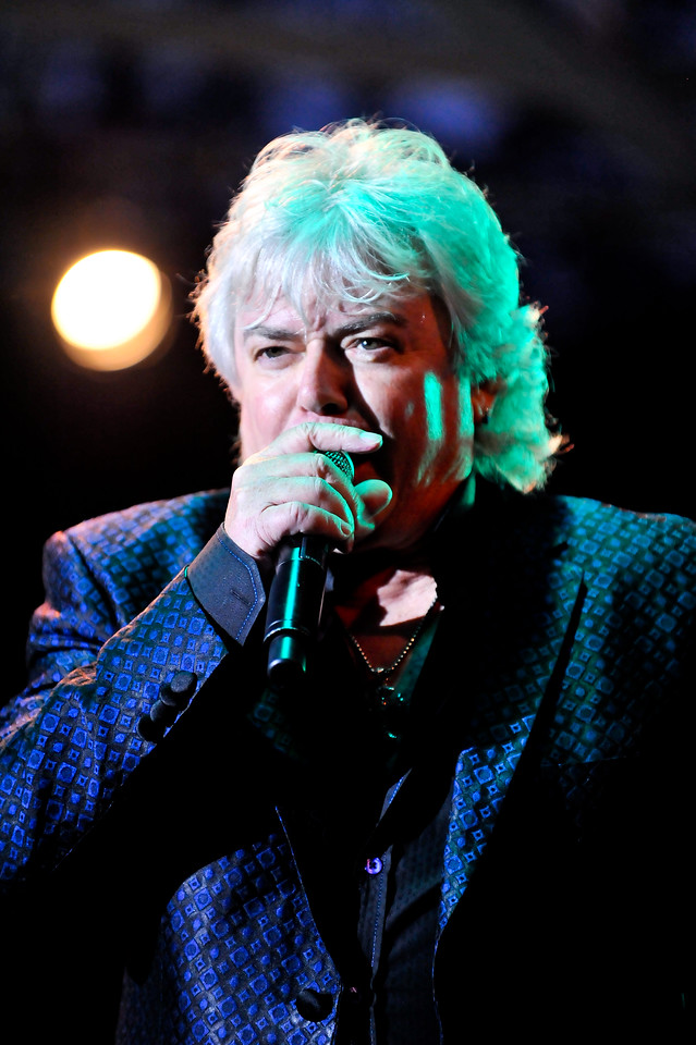 Russell Hitchcock of Air Supply performing to a sold out crowd on September 3, 2012 at the Layton Amphitheater. (ROBBY LLOYD/ Special to the Standard-Examiner)