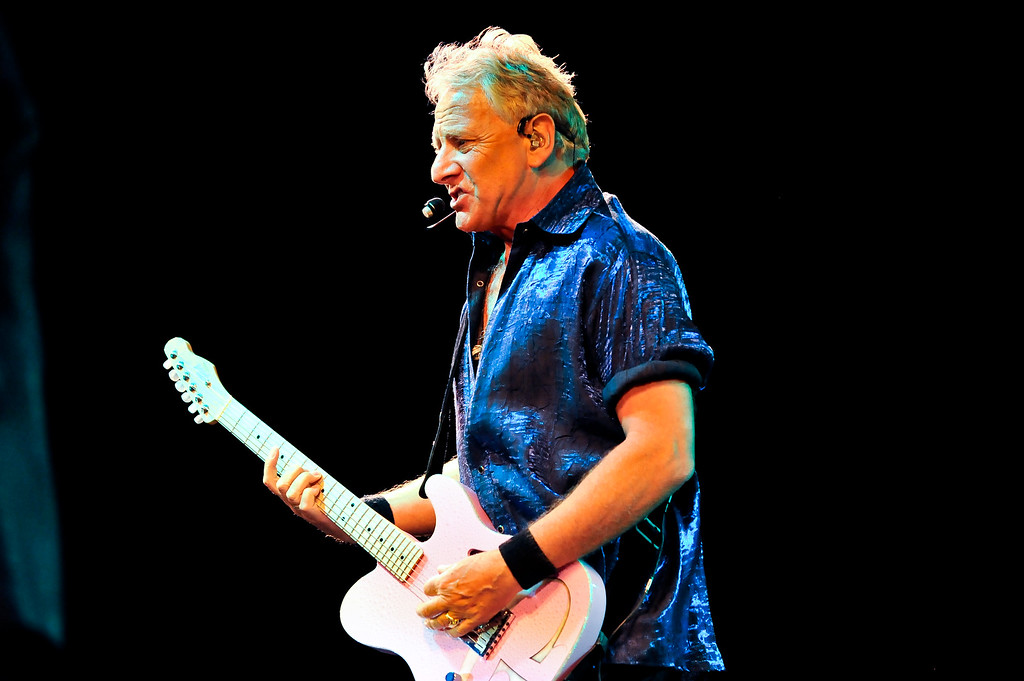 Graham Russell of Air Supply sings a selection of fan favorites to a sold out crowd on Labor Day at the Layton Amphitheater. (ROBBY LLOYD/ Special to the Standard-Examiner)