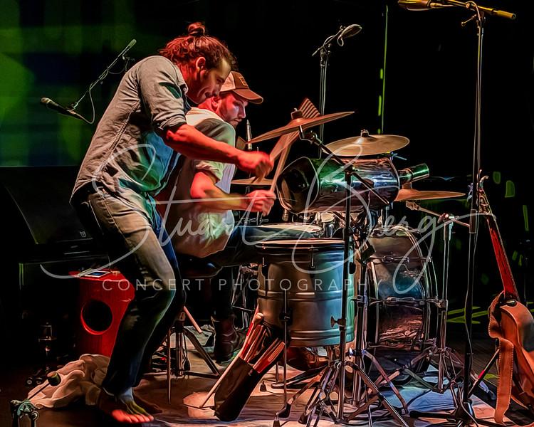 Adam Ezra Group    <br /> July 26, 2019        <br /> Skyloft  <br /> Albany, NY  <br />  ©Stuart M Berg   <br /> <br /> Adam Ezra Group   <br /> Adam Ezra Olshansky - Guitar, Banjo, Dobro, Percussion, Vocals   <br /> Corian Smith - Violin, Accordian, Vocals   <br /> Poche Ponce - Bass, Vocals   <br /> Alex Martin - Drums, Percussion, Vocals