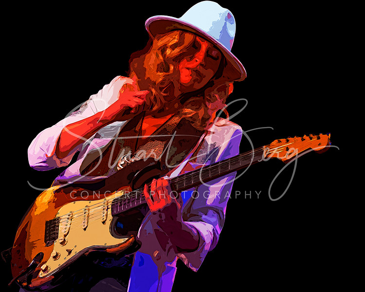 Ana Popovic <br /> Daryl's House Club<br /> Pawling, NY  <br /> May 24, 2021 <br /> ©Stuart M Berg <br /> <br /> Ana Popovic - Guitar, Vocals  <br /> Buthel - Bass, Vocals  <br /> Brooks Milgate- Keyboards, Vocals<br /> Jerry Kelley - Drums, Vocals