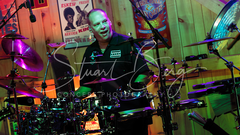 Brand X  <br /> June 7, 2017  <br /> Daryl's House Club  <br /> Pawling, NY  <br />  ©Stuart M Berg<br /> <br /> John Goodsall - Guitar  <br /> Percy Jones - Bass  <br /> Christopher J Clark - Keyboards  <br /> Scott Weinberger - Percussion  <br /> Kenny Grohowski - Drums