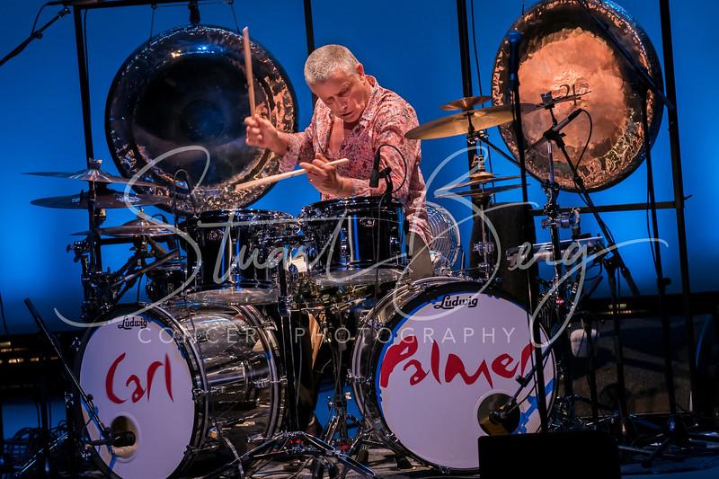 Carl Palmer  <br /> June 15, 2016  <br /> Ridgefield Playhouse, Ridgefield, CT  <br /> ©StuartBerg 2016