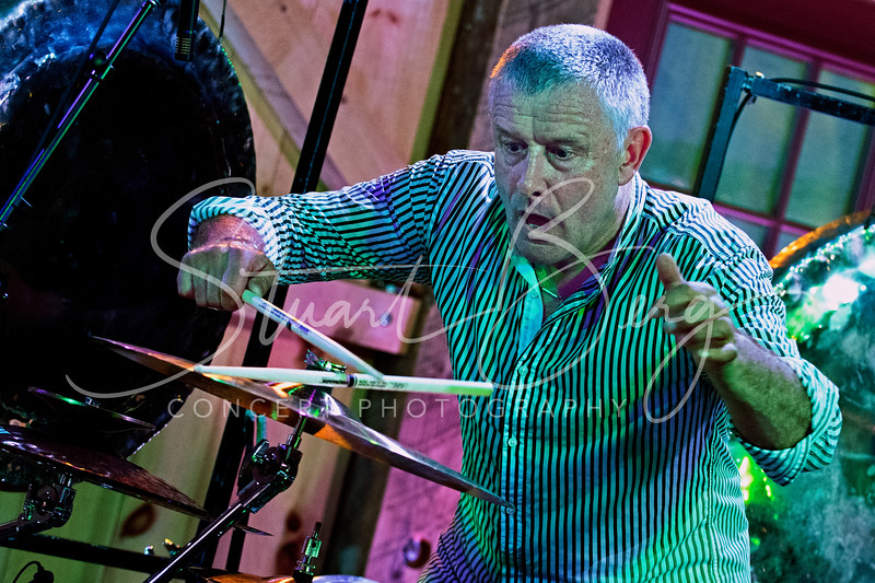 Carl Palmer Band  <br /> May 21, 2017   <br /> Daryl's House Club  <br /> Pawling, NY  <br />  ©Stuart M Berg  <br /> <br /> Carl Palmer-Drums, Percussion  <br /> Paul Bielatowicz-Guitar  <br /> Simon Fitzpatric-Bass, Chapman Stick
