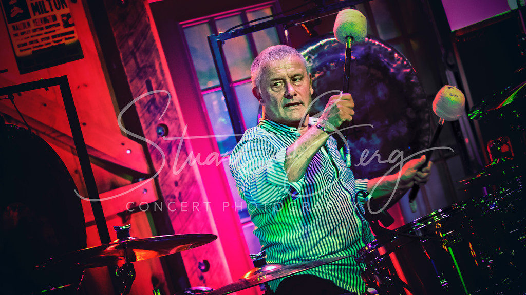 Carl Palmer Band  <br /> May 21, 2017   <br /> Daryl's House Club  <br /> Pawling, NY  <br />  ©Stuart M Berg  <br /> <br /> Carl Palmer-Drums, Percussion  <br /> Paul Bielatowicz-Guitar  <br /> Simon Fitzpatric-Bass, Chapman Stick