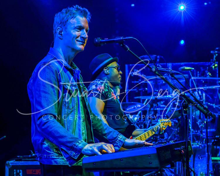 Daryl Hall and John Oates  <br /> Madison Square Garden, New York, NY   <br /> June 14, 2018   <br />  ©Stuart M Berg  <br /> <br /> Daryl Hall - Guitars, Keyboards, Vocals  <br /> John Oates - Guitars, Vocals  <br /> Pat Monahan - Vocals  <br /> Charels DeChant - Saxophone, Keyboards, Vocals  <br /> Eliot Lewis - Keyboards, Vocals  <br /> Klyde Jones - Bass, Vocals  <br /> Shane Theriot - Guitars, Vocals  <br /> Porter Carroll Jr - Percussion, Vocals  <br /> Brian Dunne - Drums