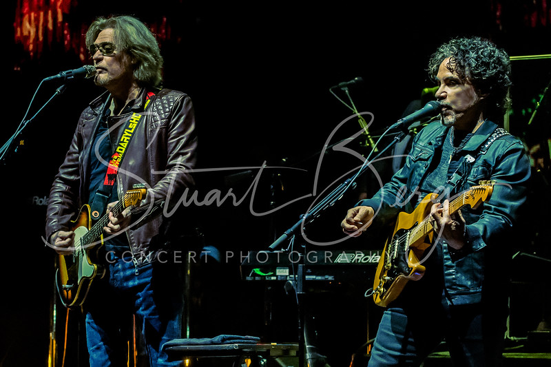 Daryl Hall and John Oates  <br /> Xfinity Center, Mansfield, MA  <br /> June 7, 2018   <br />  ©Stuart M Berg  <br /> <br /> Daryl Hall - Guitars, Keyboards, Vocals  <br /> John Oates - Guitars, Vocals  <br /> Pat Monahan - Vocals  <br /> Charels DeChant - Saxophone, Keyboards, Vocals  <br /> Eliot Lewis - Keyboards, Vocals  <br /> Klyde Jones - Bass, Vocals  <br /> Shane Theriot - Guitars, Vocals  <br /> Porter Carroll Jr - Percussion, Vocals  <br /> Brian Dunne - Drums