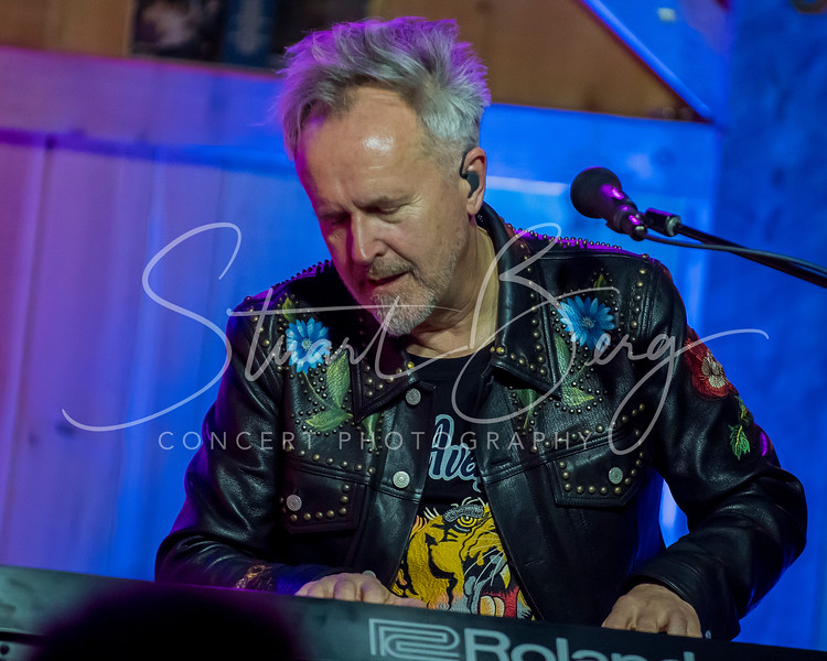 Howard Jones  <br /> February 25, 2018  <br /> Daryl's House Club  <br /> Pawling, NY  <br />  ©Stuart M Berg  <br /> <br /> Howard Jones - Keyboards, Vocals