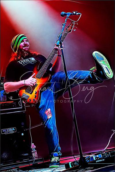Twiddle  <br /> June 13, 2019  <br /> Mountain Jam 2019  <br />  ©Stuart M Berg<br /> <br /> Band Members:   <br /> Brook Jordan -  Skins   <br /> Zdenek Gubb -  Low End   <br /> Ryan Dempsey -  Ivories   <br /> Mihali Savoulidis - Axe