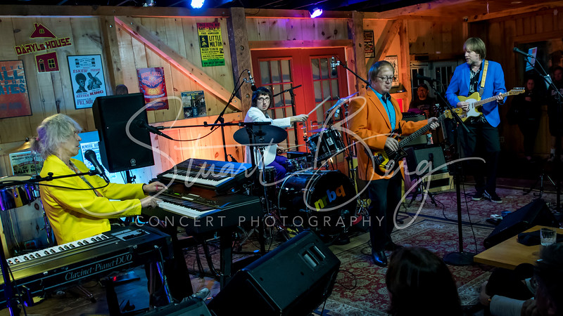 NRBQ  <br /> November 26, 2017  <br /> Daryl's House Club  <br /> Pawling, NY  <br />  ©Stuart M Berg<br /> <br /> NRBQ  <br /> <br /> Terry Adams - Keyboards, Percussion, Vocals  <br /> Scott Ligon - Guitar, Bass, Vocals  <br /> Casey McDonough - Bass, Guitar, Vocals  <br /> John Perrin -  Drums, Percussion, Vocals