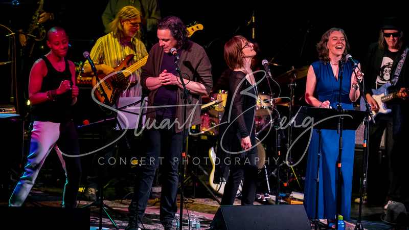 """Reelin in the Years"" the Music of Steely Dan  <br /> Bearslville Theater, Bearsville, NY  <br /> June 5, 2015  <br /> Gail Ann Dorsey, Jules Shear, Leslie Ritter, Kat Mills, Scott Petito, Jerry Marotta, Rick Marotta, Jesse Gress,  Matt Finck, Jonny Roush, Peter Prmamore, Erik Lawrence, Chris Pasin, Ken Geoffre  <br /> Photo by Stuart Berg"