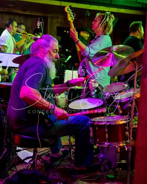Reelin' in the Years  <br /> July 22, 2018  <br /> Daryl's House Club  <br /> Pawling, NY  <br />  ©Stuart M Berg<br /> <br /> <br /> Reelin' in the Years  <br /> Jerry Marotta - Drums, Vocals  <br /> Rick Marotta - Drums  <br /> Pete Levin - Keyboards  <br /> Jesse Gress - Guitar  <br /> Matt Finck - Guitar  <br /> Jennifer Maidman - Bass  <br /> Joey Eppard - Vocals, Percussion  <br /> Lindsey Skye - Vocals  <br /> Chris Eminizer - Saxaphone  <br /> Ken Gioffre - Saxaphone  <br /> Chris Pasin - Trumpet  <br /> Don Mikkelsen - Trombone