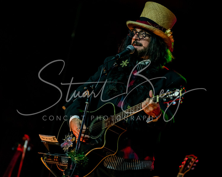 Slambovian Circus of Dreams  <br /> December 5, 2019   <br /> Skyloft   <br /> Albany, NY   <br />  ©Stuart M Berg  <br /> <br /> Slambovian Circus of Dreams  <br /> Joziah Longo - Lead Vocals, Guitar, Harmonica  <br /> Tink Lloyd -  Accordian, Cello, Flute, Percussion, Vocals  <br /> Sharekey McEwen -  Guitar, Vocals  <br /> RJ Mac Cárthaigh - Bass, Vocals  <br /> Felipe Torres  - Drums, Percussion, Vocals