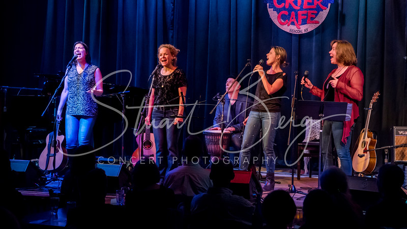Steady On - Celebrating Lilith Fair at 20  <br /> Sloan Wainwright, Amy Soucy, Lara Herscovitch, and Sharon Goldman  <br /> October 13, 2017    <br /> Towne Crier Cafe  <br /> Beacon,  NY  <br />  ©Stuart M Berg<br /> <br /> Sloan Wainwright - Vocals  <br /> Lara Herscovitch - Vocals, Guitar, Percussion  <br /> Amy Soucy - Vocals, Guitar  <br /> Sharon Goldman - Vocals, Guitar, Piano  <br /> Sthephen Murphy - Guitar, Mandolin