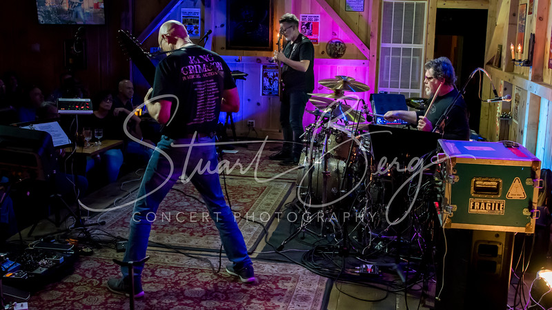 Stick Men  <br /> August 18, 2017  <br /> Daryl's House Club  <br /> Pawling, NY  <br />  ©Stuart M Berg  <br /> <br /> Tony Levin - Chapman stick  <br /> Markus Reuter - TouchGuitars   <br /> Pat Mastelotto - Drums, Electronic percussion