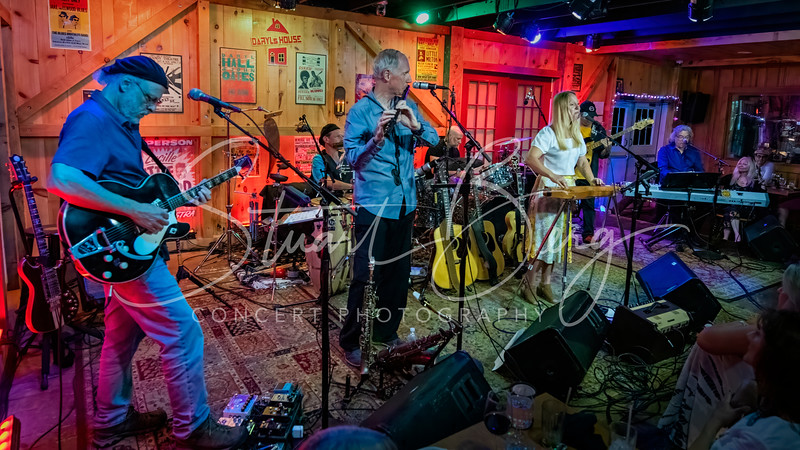 The Joni Project - A Tribute to Joni Mitchell <br /> June 27, 2021 <br /> Daryl's House Club <br /> Pawling, NY  <br />  ©Stuart M Berg <br /> <br /> The Joni Project <br /> <br /> Katie Pearlman - Vocals, Guitar, Dulcimer <br /> Dave Berg - Guitar, Vocals <br /> Dan Ehrlich - Bass <br /> Alan Lerner - Drums <br /> Mark Mancini - Keyboards, Vocals <br /> Steve Finkelstein - Percussion <br /> Premik Russell Tubs - Saxophones, Flute