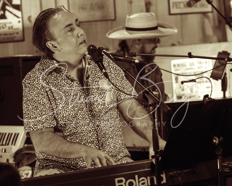 The Weight Band  <br /> July 21, 2017  <br /> Daryl's House Club  <br /> Pawling, NY  <br /> ©Stuart M Berg-  <br /> <br /> Jim Weider - Guitar, Mandolin, Vocals  <br /> Brian Mitchell - Keyboards, Vocals  <br /> Marty Greb - Keyboard, Saxaphones, Vocals<br /> Albert Rogers - Bass, Vocals  <br /> Michael Bram - Drums, Vocals