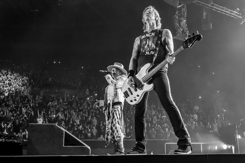 Guns 'N Roses, LA Forum, 2017