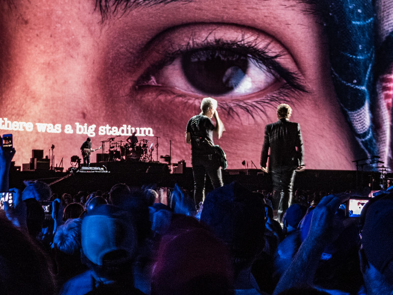 U2 The Joshua Tree - May 20, 2017:  The Rose Bowl, Pasadena