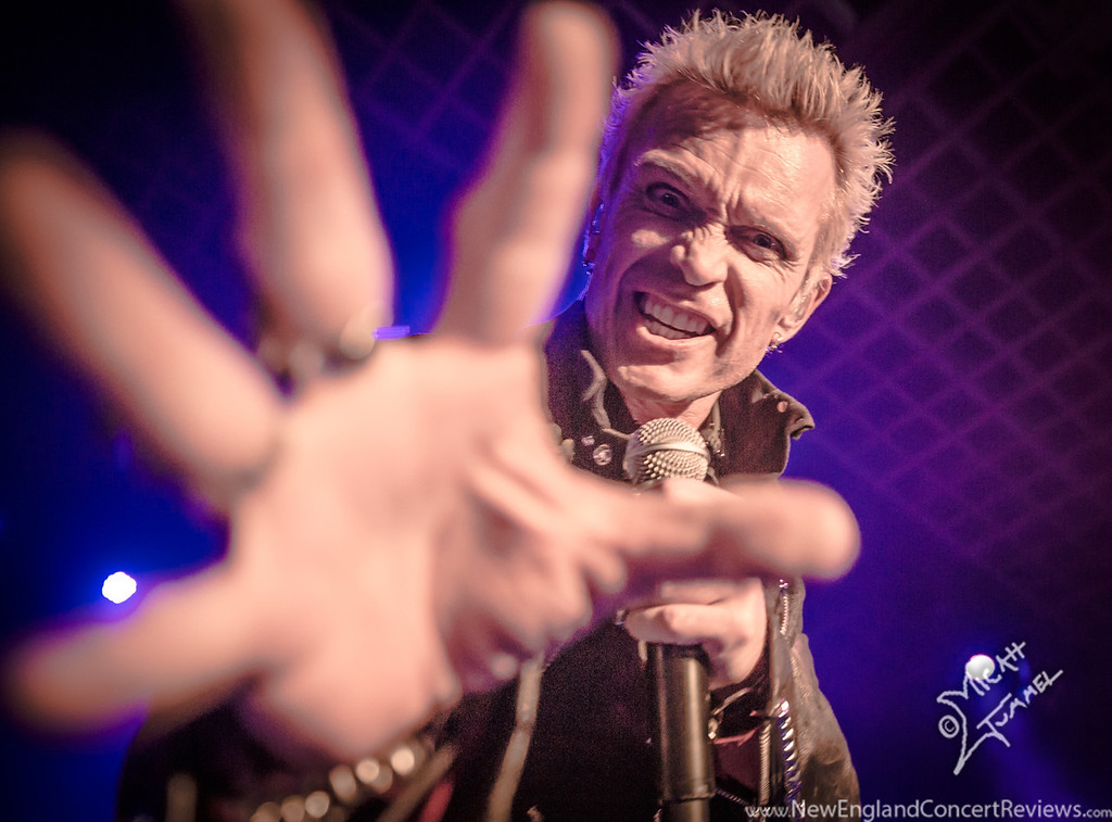 Billy Idol at The Hampton Beach Casio Ballroom - NH - NewEnglandConcertReviews