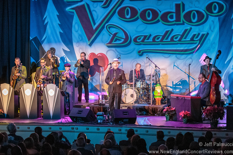 Big Bad Voodoo Daddy At The Cabot Beverly Ma New