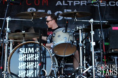 Sum 41 @ Home Depot Center (Carson, CA); 8/10/11