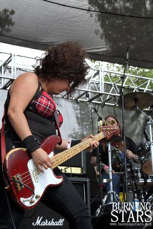 Nashville Pussy @ Oak Canyon Ranch (Silverado, CA); 7/06/13