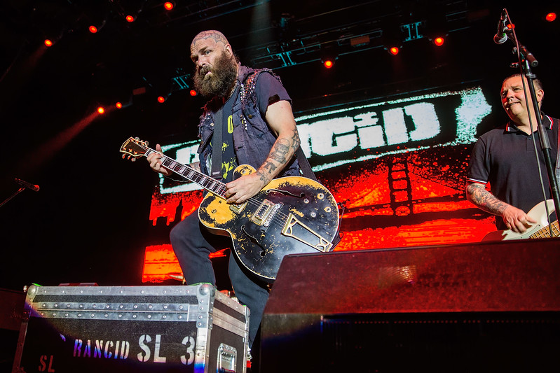 Rancid Performs at WaMu Theater in Seattle
