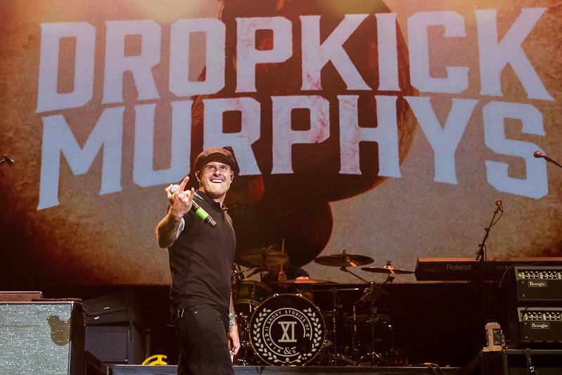 Dropkick Murphys Perform at WaMu Theater in Seattle