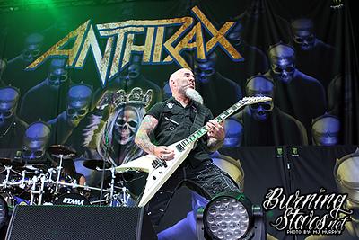 Anthrax @ Budwiser Stage (Toronto, ON); 05/29/18