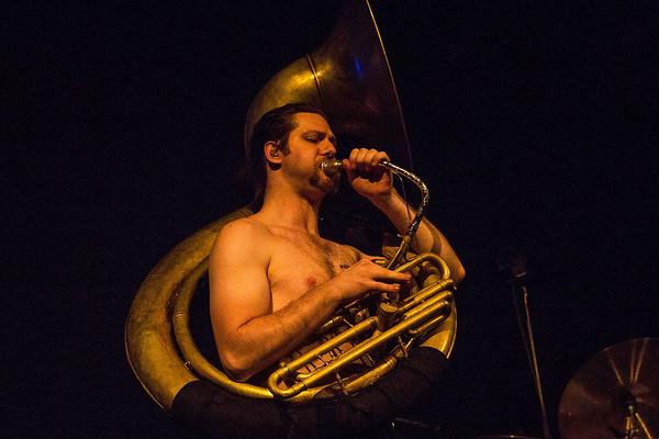 Gogol Bordello Performs At Neptune Theatre