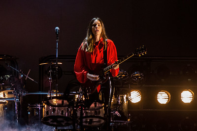 Haim performs at WaMu Theater