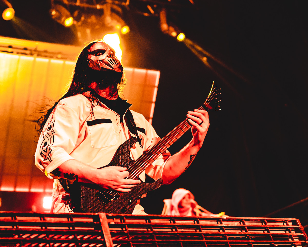 Mick Thomson of Slipknot