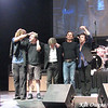 Jeff Scott Soto, David Dzialak, Ross Valory, Jon Cain & Neal Schon taking a bow