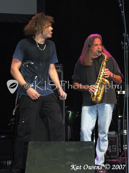 Jeff Scott Soto and Marc Russo