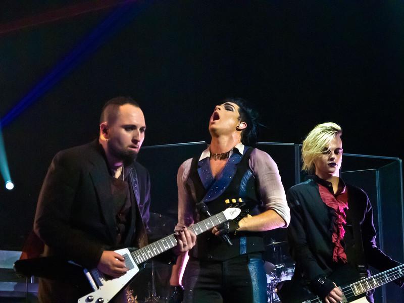 Adam Lambert, Final Glam Nation, Club Nokia LA, 12/16/10